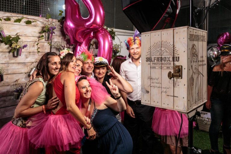 The SelfieBox is Mallorcas best photo booth